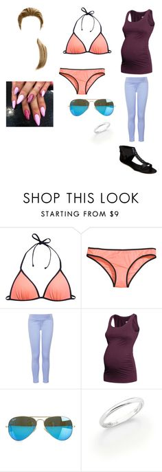 """1355"" by paukar ❤ liked on Polyvore featuring H&M, Topshop, Givenchy, Ray-Ban and De Beers"