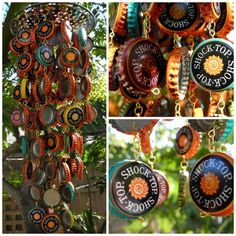 Assorted Shock Top Handmade Beer Bottle Cap Wind Chime. $40.00. I guess this is a good reason as any to drink!!!