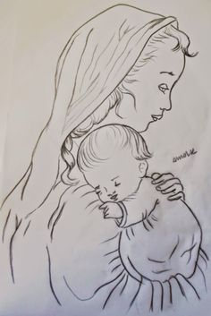Arte * Vida: Maria e o Menino Jesus!