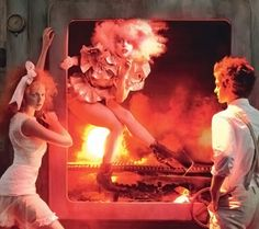 Leibovitz&Gaga? How fabulous would it have been to be on that set?!