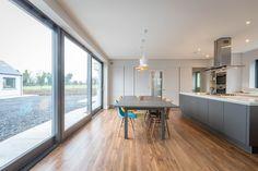 mckenna+associates - bespoke family home designed by team of Registered Architects Beautiful Kitchen Designs, Beautiful Kitchens, White Countertops, Bespoke, Home And Family, House Design, Windows, Architects, Ramen