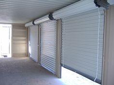 insulated roll up garage doors
