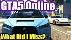 What Did I Miss? (GTA 5) Grand Theft Auto V Online PS4