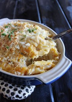 Butternut Squash Mac and Cheese | The Hopeless Housewife