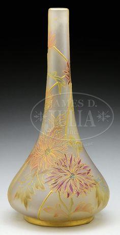 Mosaic Glass, Glass Art, Mount Washington, Antique Glassware, Handmade Beads, Early American, Outlines, Chrysanthemum, Antique Art