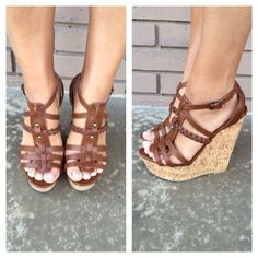 Brown Spine Cork Wedges