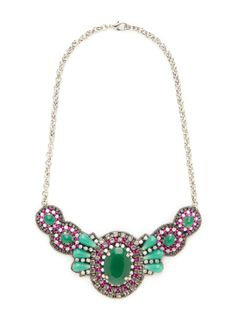 Vagabond Bib Necklace by Suzanna Dai at Gilt