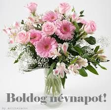 Decoupage, Name Day, Diy Cards, Holidays And Events, Flower Arrangements, Glass Vase, Floral Wreath, Happy Birthday, Greeting Cards