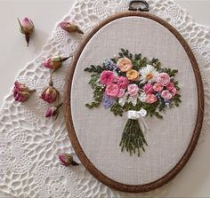 new brazilian embroidery patterns Bullion Embroidery, Brazilian Embroidery Stitches, Chain Stitch Embroidery, Hungarian Embroidery, Types Of Embroidery, Rose Embroidery, Learn Embroidery, Embroidery Hoop Art, Embroidery Patterns