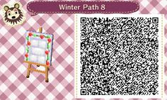 Animal Crossing New Leaf Winter Path - Imgur This entire album of pathway sections is really, really awesome!