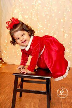 My baby Christmas lasty year: Crystal Hernandez Photography