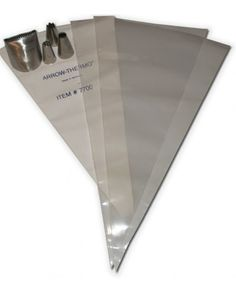 Gretchen's Bakery - The Extra Large Kit~ Best Quality Pastry Bags you will lever find! they last for 10 YEARS!!!