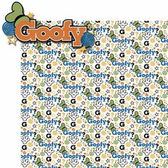 1e259c56811 Buncha Character  Goofy 2 Piece Laser Die Cut Kit