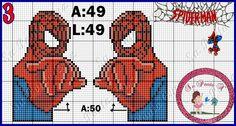 Spiderman x-stitch