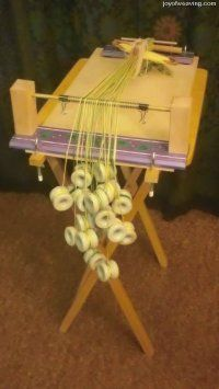Tablet Weaving Loom - Joy of Weaving