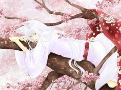 ブログにUPした絵。 (2015年12月)  桜とあの簪。 巴衛にとって幾度目の桜なのだろう・・・「その日」が来るのをずっと待ち続ける巴衛。 気の遠くなるような月日を経てやっと奈々生と出会え