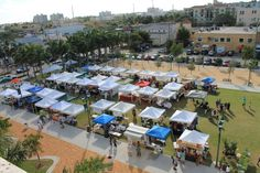 Delray Beach Green Market => The market has relocated to the Old School Square Park in the Pineapple Grove Arts District for its 17th season. The new location will provide the market with more space than its previous location. This season, the market will have space for up to 60 vendors, offering shoppers a wider variety of quality products..October 13, 2012 to May 11.