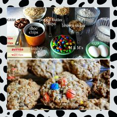 Pioneer Woman Monster Cookies----beyond a doubt one of the best homemade cookies i have made