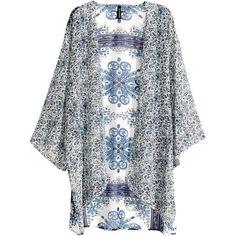 b0851b6273 H amp M Kimono ( 14) ❤ liked on Polyvore featuring intimates