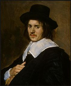 Portrait of a man, 1648, Frans Hals