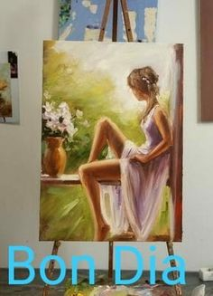 This Pin was discovered by phy Acrylic Painting Canvas, Acrylic Art, Canvas Art, Figure Painting, Painting & Drawing, Painting Inspiration, Art Inspo, Creation Art, Portrait Art