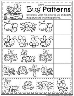 Looking for awesome Bug Activities for preschool? This awesome set is a mix of cute preschool bug crafts and educational activities for your math and literacy centers. They are hands on, and there is some fun science mixed in as well. Preschool Bug Theme, Free Preschool, Preschool Curriculum, Preschool Printables, Preschool Lessons, Preschool Learning, Kindergarten Worksheets, Preschool Crafts, Bug Crafts