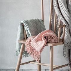 This simple, modern pleated throw can be draped over any sofa or bed for an effortlessly chic feature for your interior. This Linear Pleat super soft throw will.