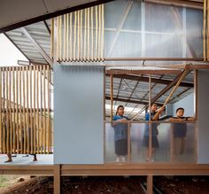 Escuela Baan Nong Bua,© Spaceshift Studio