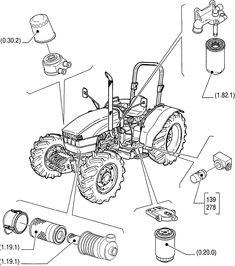 Resultado de imagen para manual de partes new holland 7630