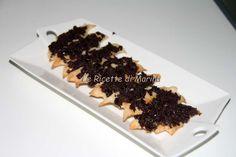 Pipistrelli alle olive - Rustici per Halloween