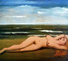 Paul Delvaux - At sea