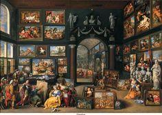 Willem van Haecht (1593-1637), Apelles painting Campaspe , circa 1630, oil on panel, The Hague, Mauritshuis.