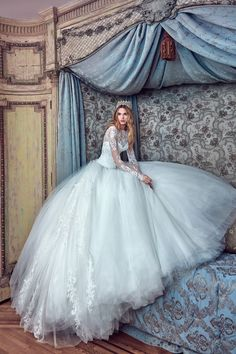 Check Out this VOLUMINOUS Ball Gown That'll Turn Heads on Your Wedding Day From…