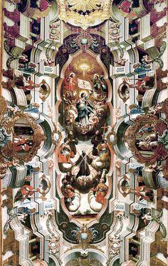 Glorificação dos Santos Franciscanos, Igreja do Convento de S. Antônio, João Pessoa, Brasil, 1766 1769