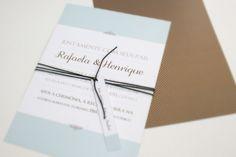 Convite de casamento Rafaela & Henrique