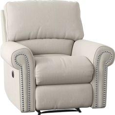 Lansing Rocking Recliner In 2020 Recliner Custom Upholstery Chair