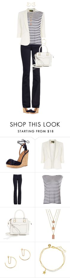 """""""Jeans And Sandals  For Spring"""" by ittie-kittie on Polyvore featuring Aquazzura, Jolie Moi, MiH Jeans, T By Alexander Wang, Rebecca Minkoff, LC Lauren Conrad, Gorjana, Accessorize, SpringStyle and springfashion"""