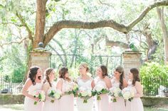 Dana Cubbage Weddings | Charleston SC Wedding Photography | Ashleigh + Sean // Blush + Gold Charleston Wedding at Legare Waring House