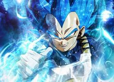 Beyond Blue Vegeta.
