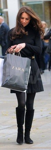 Zara!  I just shopped in that store in Edmonton and here is Princess Kate!