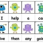 Sight Word Flashcards - $2.00 download on TPT - all 220 Dolch Sight Words -  Over 100 different styles available, so each child's interest can be tapped. This sight also had picture cues with all 220 sight words and many other sight word activities and worksheets.