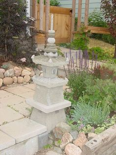 the japanese garden pagoda built by using plastic plant pots and cement, concrete masonry, gardening, Japanese pagoda made with concrete and plastic pots as moulds Asian Garden, Diy Garden, Garden Projects, Garden Pots, Garden Ideas, Japanese Pagoda, Cement Garden, Plastic Plant Pots, Pot Jardin