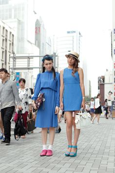[Street Style] Tsumire & mai   Harajuku (Tokyo)