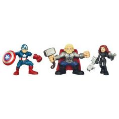 The Avengers - Super Hero Squad Earth's Mightiest Heroes Pack