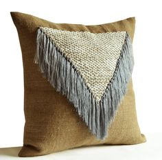 Bohemian Throw Pillow Cover Decorative Pillow Cover by AmoreBeaute
