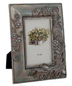 www.allthingspeacock.com - Peacock Photo Frames