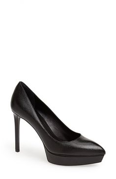 Saint Laurent 'Janis' Pointy Toe Platform Pump | Nordstrom