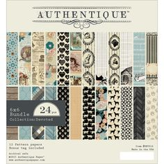 "Authentique Devoted 6"" x 6"" Cardstock Pad"