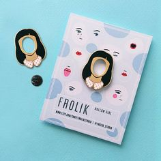 Hey, I found this really awesome Etsy listing at https://www.etsy.com/listing/548682479/hollow-girl-gold-plated-enamel-pin