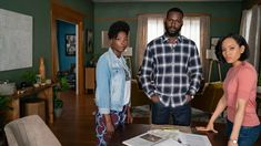 """From award-winning filmmaker Ava DuVernay (""""When They See Us""""), the contemporary drama """"Queen Sugar"""" returns as newlyweds Ralph Angel (Kofi Siriboe) and Darla (Bianca Lawson) prepare to welcome a new baby while struggling to make financial ends meet. Fall Tv Shows, Black Tv Shows, Dawn Lyen Gardner, Kofi Siriboe, Black Film Festival, Black Actors, Ex Husbands, Oprah Winfrey, Best Tv"""
